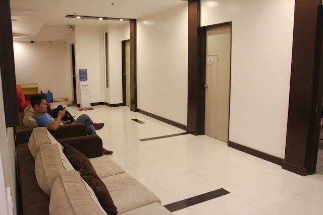 Lobby of Ong Bun Pension House