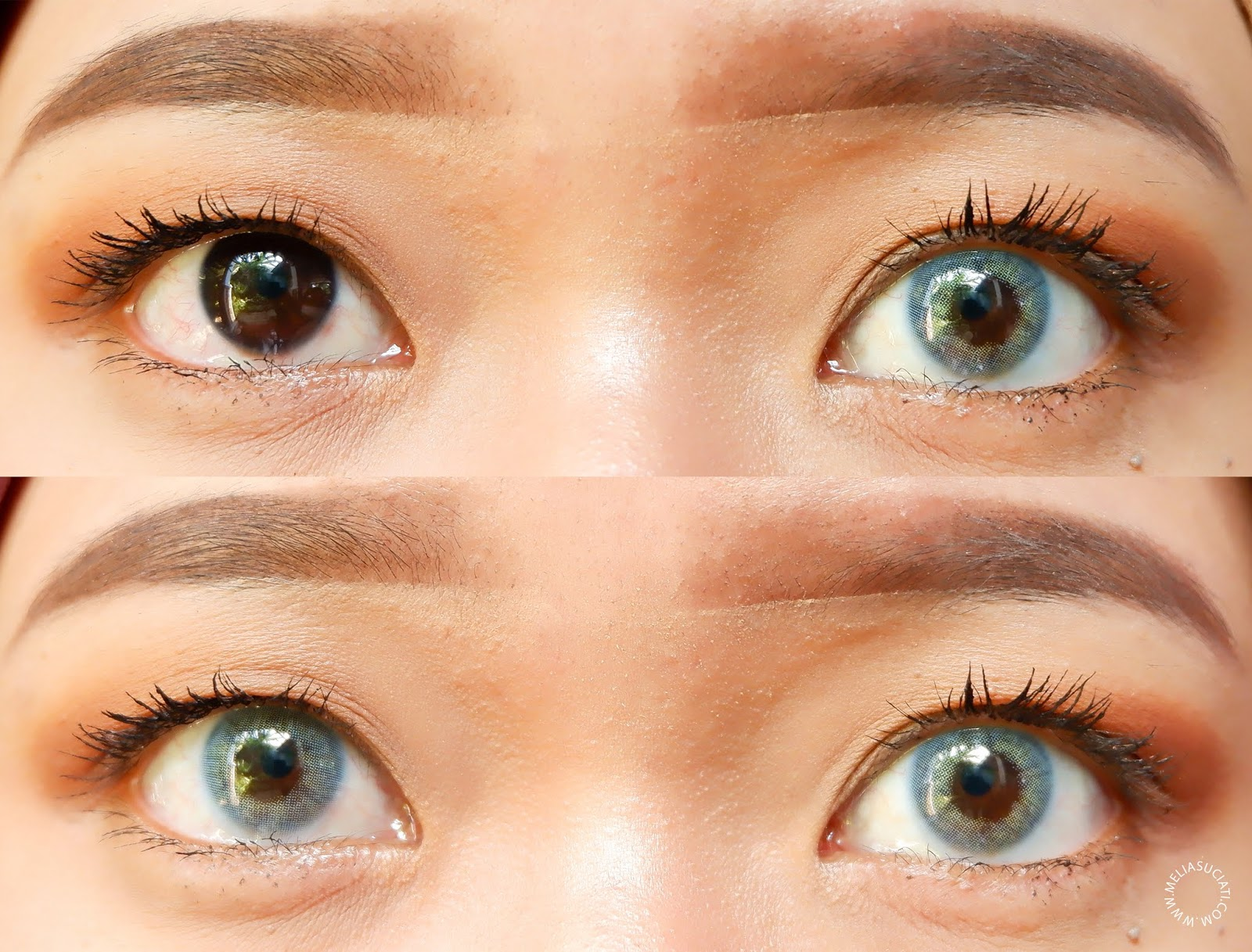 REVIEW SOFTLENS X2 BIO GLAZE NU AZUL DAN NA QUARTZO