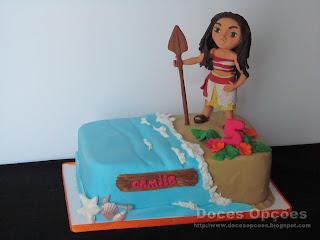 Vaiana disney cake