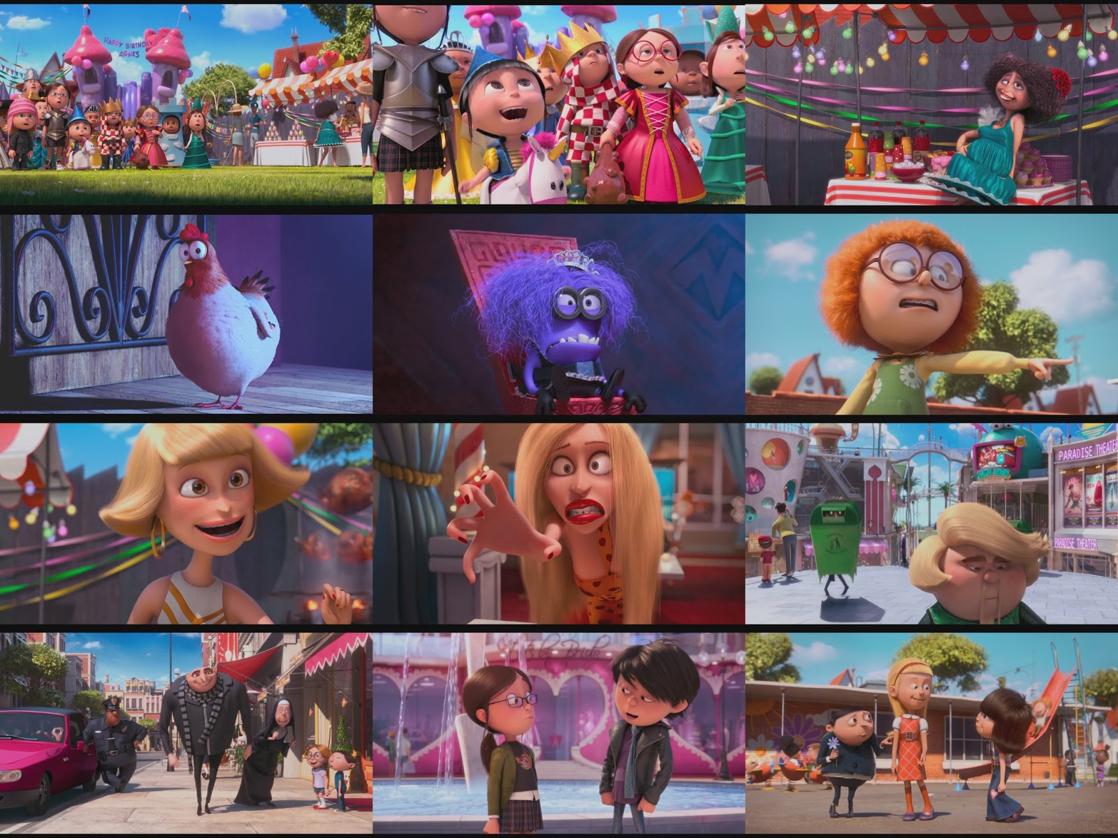 character design info despicable me 1 2 design