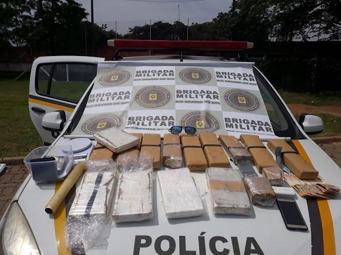 Brigada Militar prende dois traficantes em Gravataí