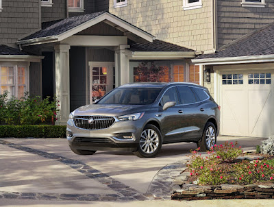 All New Family-Oriented Luxury SUV - The Buick Enclave Avenir