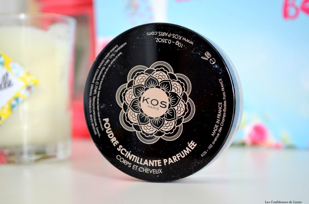 produits de beauté bio - produits de beauté naturels - ingrédients bio - ingrédients naturels - poudre - poudre parfumée - KOS -