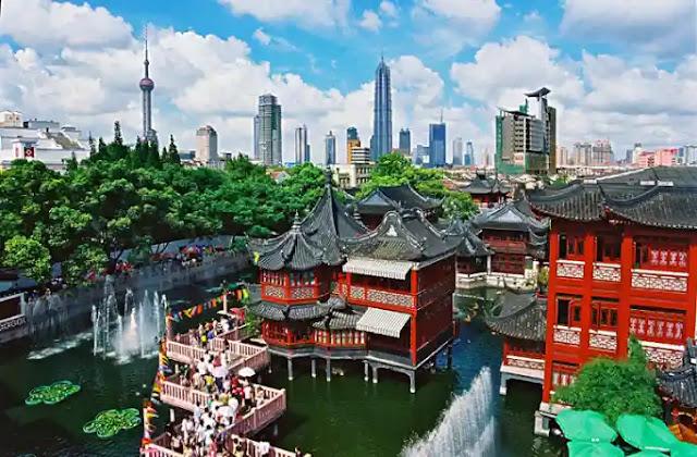 حديقة يوان شنغهاي  Yuyuan Garden