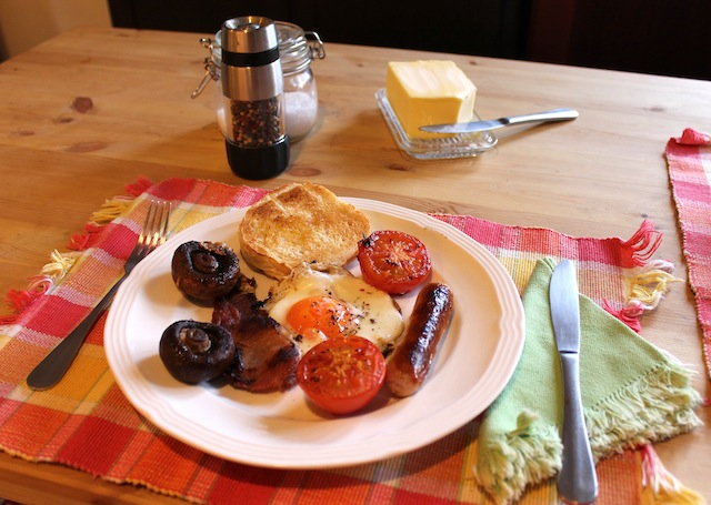 Food Lust People Love One Pan Full English Fry Up For