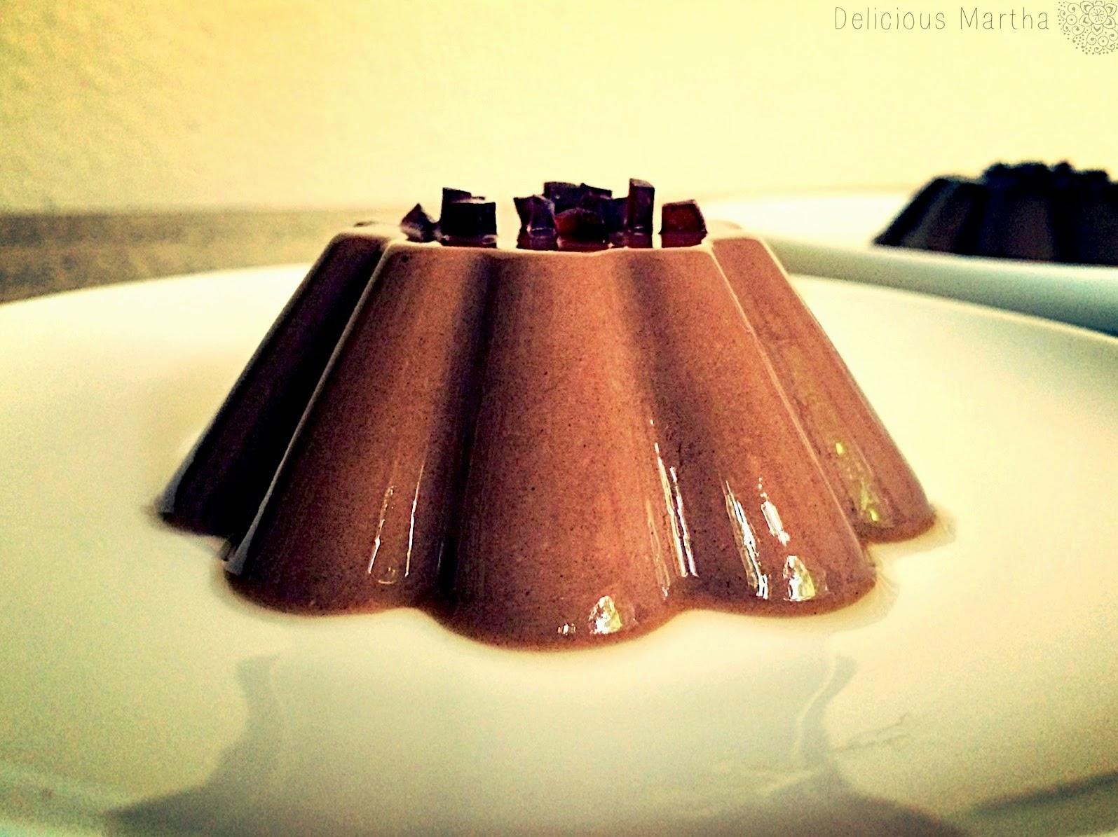 Cuajada de chocolate con Liquorice LAKRIDS