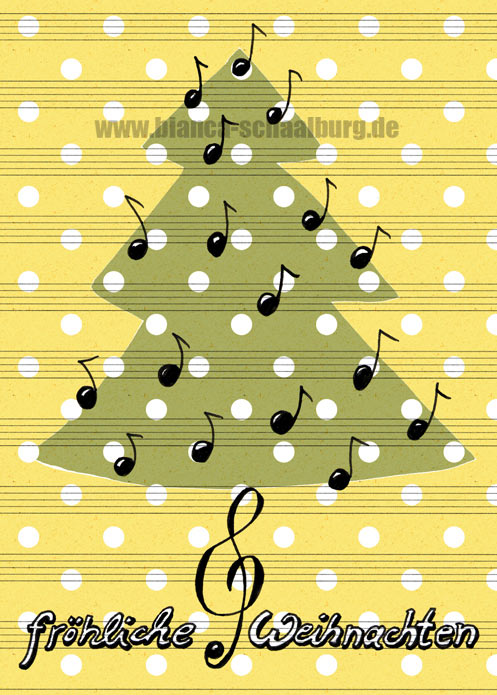 Weihnachtsgrüße Musikalisch.Bianca Schaalburg Musikalischer Weihnachtsgruß