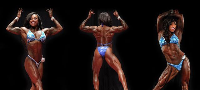 Twana Barnett-Ferguson Muscles