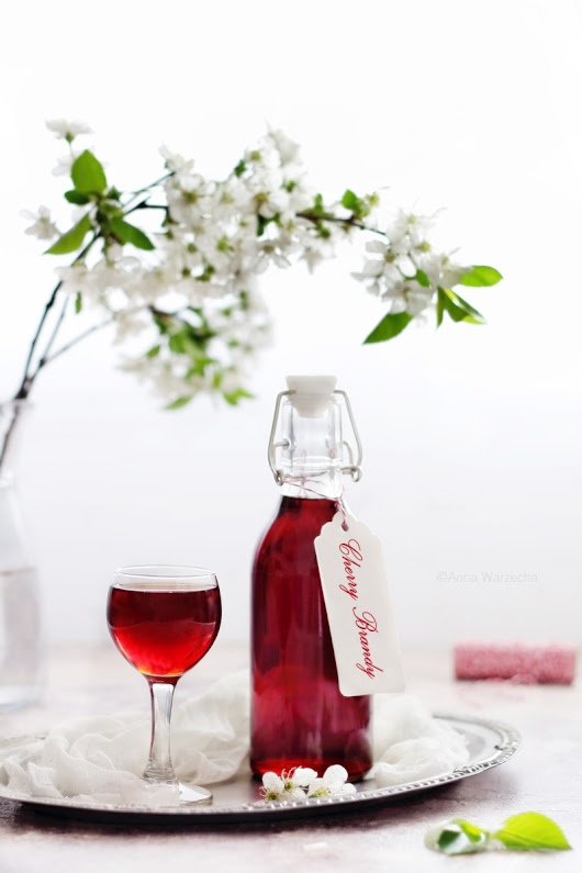 Domowe Cherry Brandy