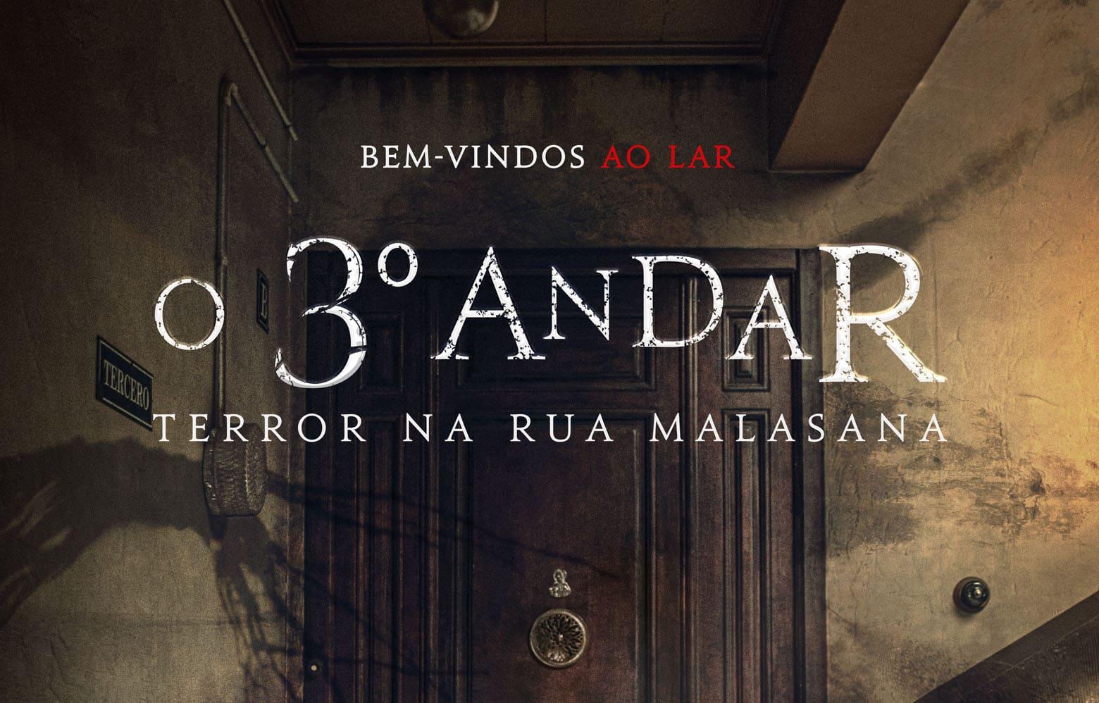 """Confira o cartaz do filme """"O 3º Andar – Terror na Rua Malasana"""""""