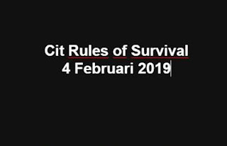 Link Download File Cheats Rules of Survival 4 Feb 2019