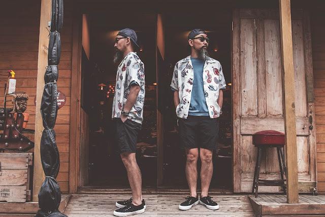 アロハ ヴィンテージ ハワイアン シャツ 東洋 サンサーフ アロハシャツ 日本製 シュガーケーン 着こなし コーディネート