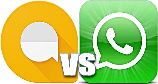 Google Allo - Pendatang Baru Yang Akan Menjadi Saingan Berat WhatsApp