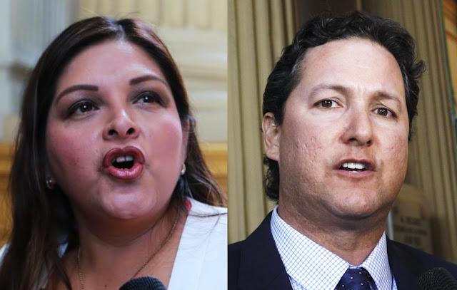 La legisladora Beteta dijo que se animó a denunciar recién el caso porque al ser fujimorista le podían increpar y cuestionar la acusación
