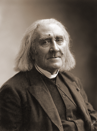 Liszt photographed by Nadar in 1886