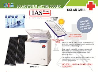kulkas vaksin tenaga surya