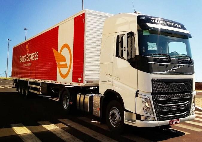 Bauer Express divulga vagas para motoristas carreteiros