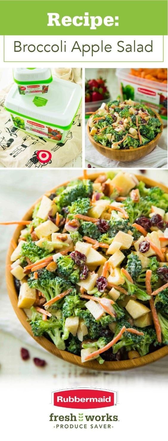 Healthy Broccoli Apple Salad