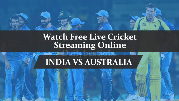 India Vs Australia live cricket streaming online Mobilecric Smartcric