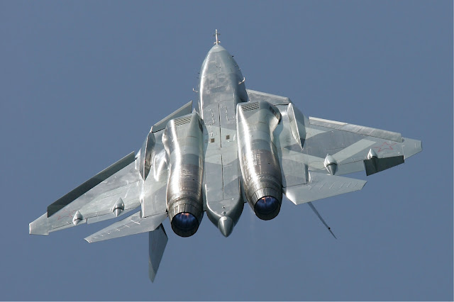 RUSSIA LEADS THE NINTH T-50 PROTOTYPE