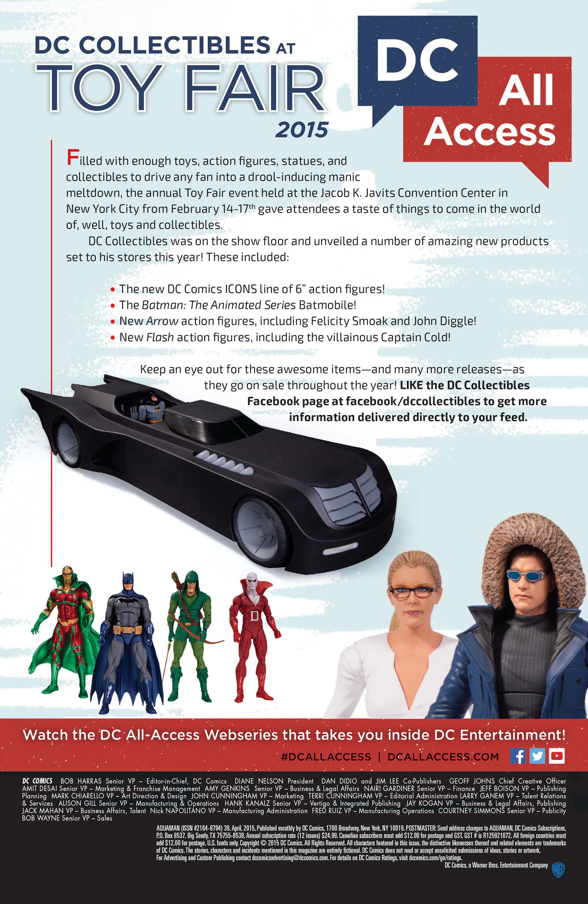 Read online Aquaman (2011) comic -  Issue #39 - 19