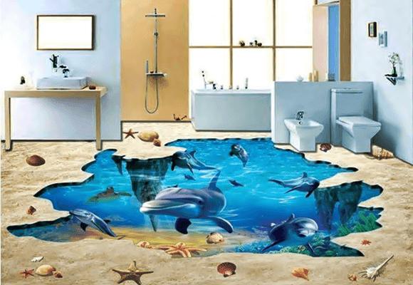 Decoração-banheiro-piso