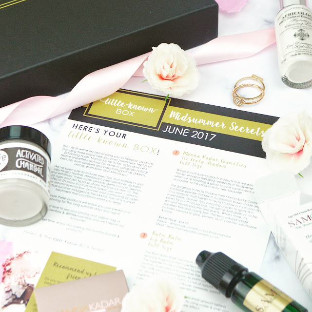 Little Known Box June 2017 Midsummer Secrets Edition Review