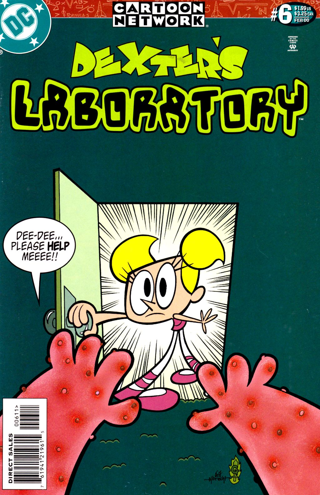 Dexter's Laboratory issue 6 - Page 1