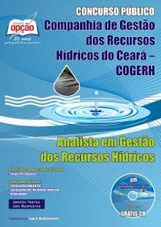 Apostila Concurso COGERH - Analista em Gestão dos Recursos Hídricos.