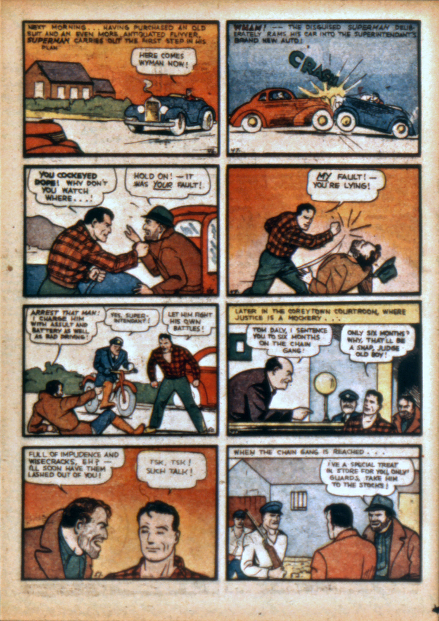 Action Comics (1938) 10 Page 9