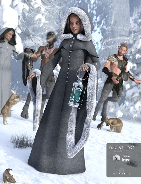 Winter Fantasy for Genesis 3 Female