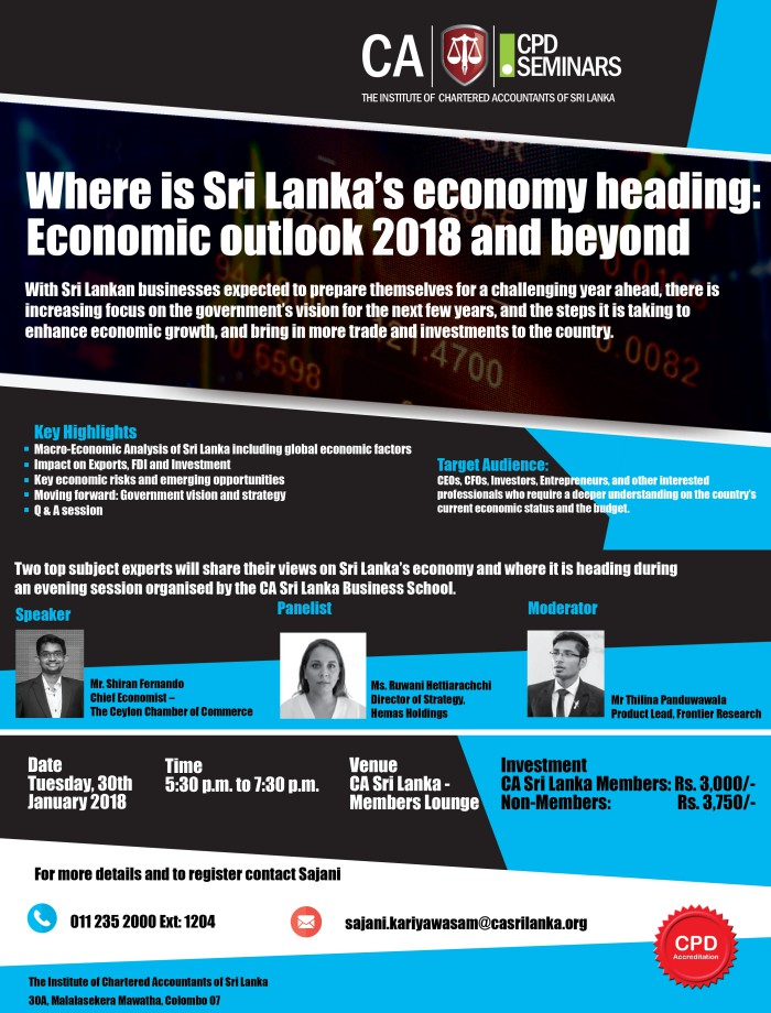 macroeconomic analysis of sri lanka Economic analysisprepared for dr amir ullah international marketing prepared by saurabh bhide c pratap narsaraju c.