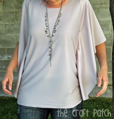 blusas, camisa, mangas murciélago, bricomoda, refashion, costura