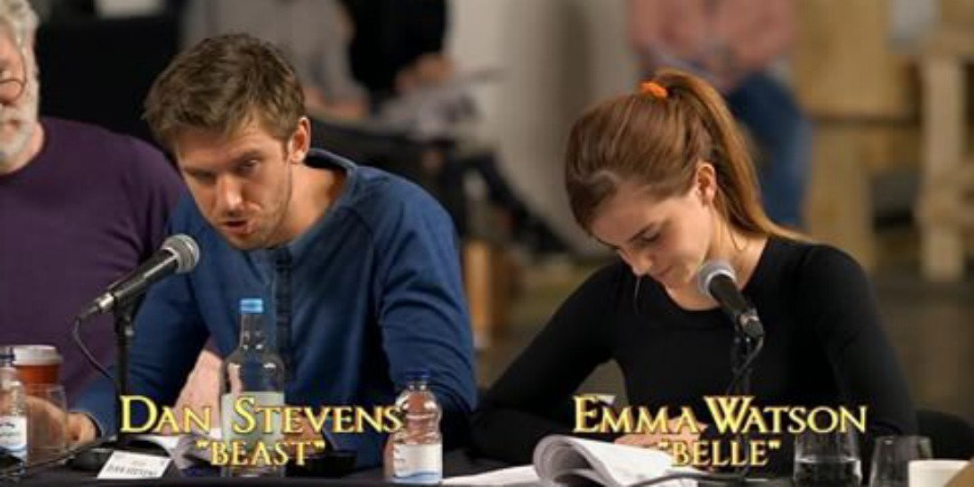 First Pictures Of Emma Watsons Beauty And The Beast