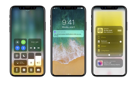 iPhone 8 release date, specs and price: Render shows off bezel-less design, under-screen Touch ID