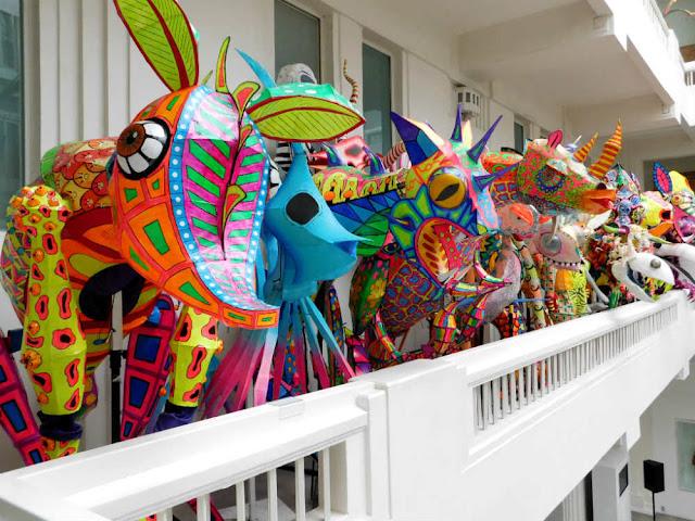Concurso y Desfile de alebrijes