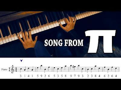 Pi sayısı müzik notaları
