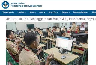 Jadwal UNP SMA MA SMK 2018