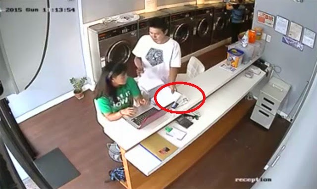 NEW Modus Papel Gang Surfaces in CCTV Video
