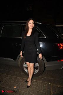 Yami Gautam Stills in Black Short Dress at Hrithik Roshan 43rd birthday Party  0005.jpg