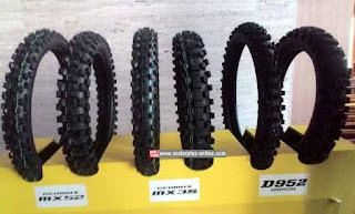 Dunlop Geomax MX52, MX3S, dan D952 Adventure