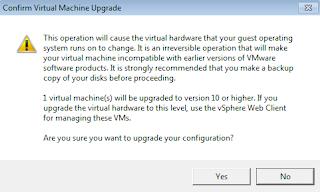 upgrade esxi 6.5 from cli