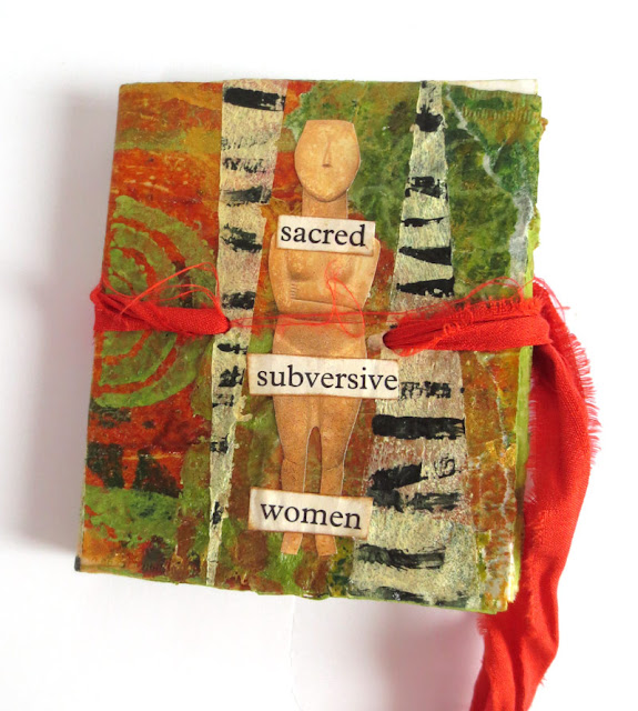Subversive women collages