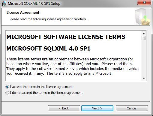 sqlxml4 64 bit
