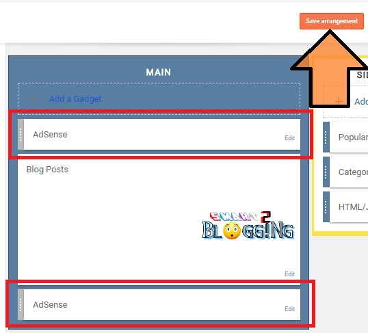 Blogspot blog post me Adsense ads kaise lagaye ?