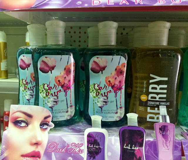 Fake Bath & Body Works products at a government owned co-operative society store.
