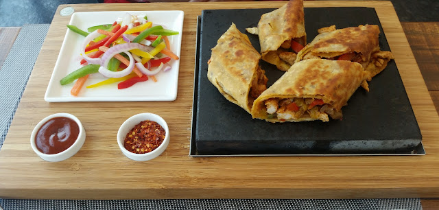 Barbequed Wrap