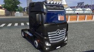 Mercedes Benz Actros MP4 version 2.2