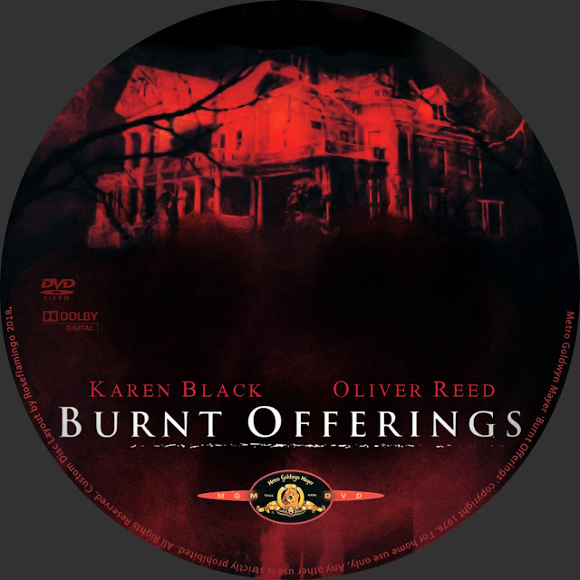 Burnt Offerings (1976) Label Cover