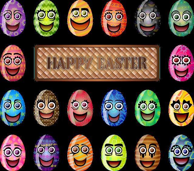 Happy Easter Sunday Funny Emoji